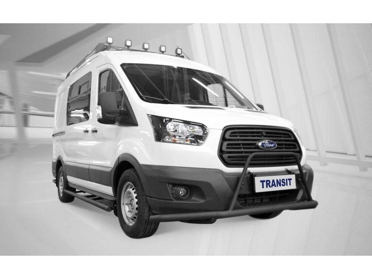 Ford сделал Transit для наших охотников и рыбаков