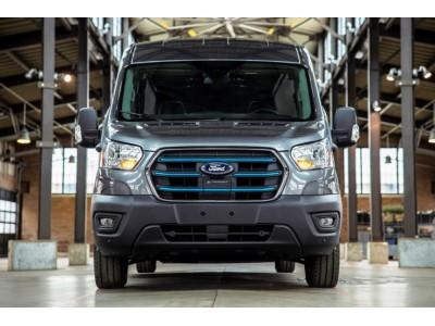 Электрический Ford E-Transit: 350 км на одной зарядке