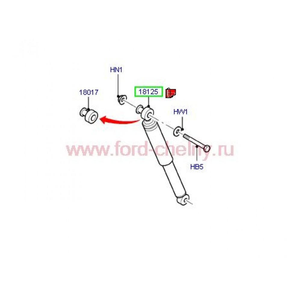 Амортизатор задний 115-140 л.с