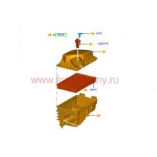 Корпус возд. фильтра с датчиком 125-155 л.с