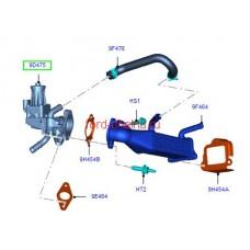 Клапан EGR с охлаждением 155 л.с. Т  FB3Q 9D475-AB